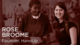 HandUp wants to solve homelessness and make money doing it