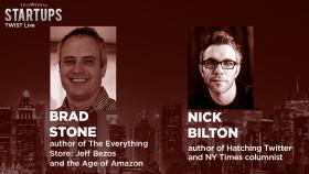 The origins of Amazon & Twitter – TWIST Live Nick Bilton & Brad Stone