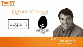 The future of food and Tim Draper's state of California   Launch Festival 2014