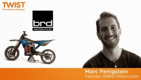 BRD's slick electric motorcycles
