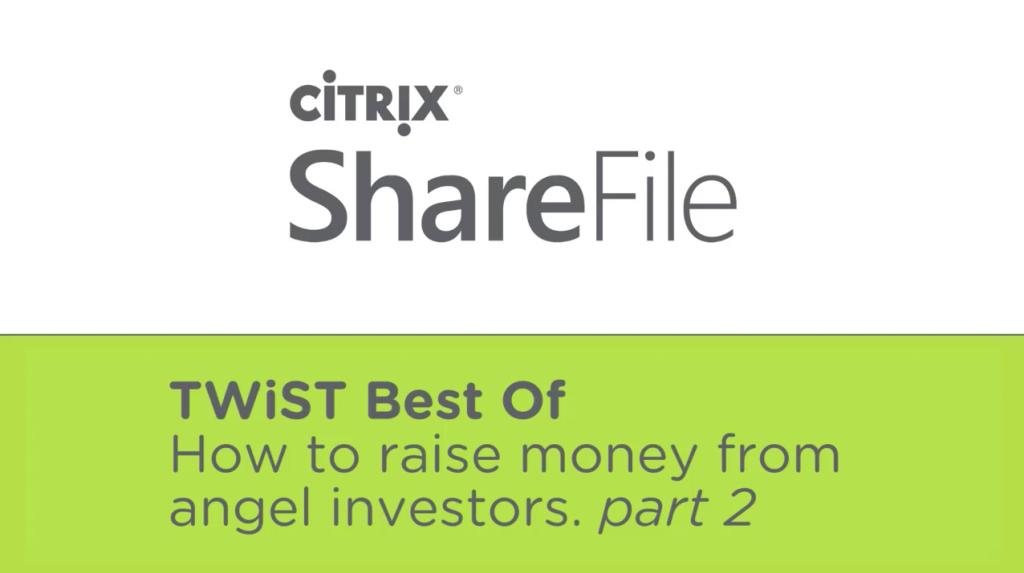 how-to-raise-money-from-angels