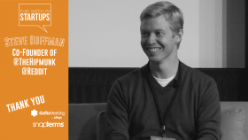 LAUNCH SCALE Keynote: Co-founder Steve Huffman shares secrets, lessons learned on building reddit & hipmunk