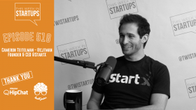 Cameron Teitelman, Founder & CEO of StartX, breaks the mold by building a powerhouse nonprofit accelerator
