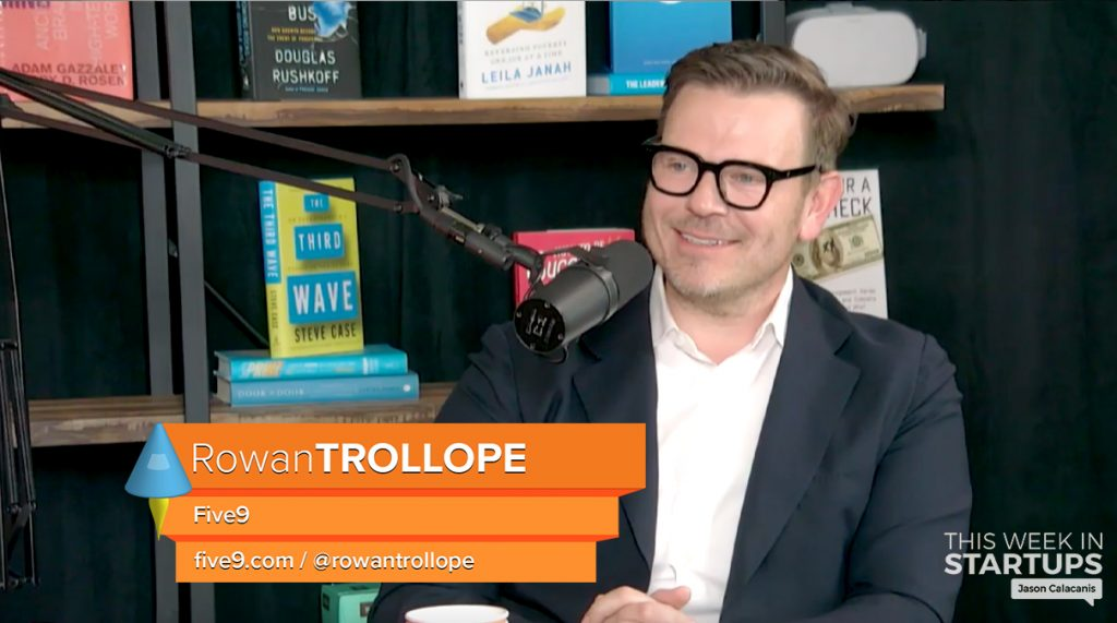 cf62c12393e9 E917  Five9 CEO Rowan Trollope on how his cloud-based contact center is  leading the future of customer success by fixing a globally hated  experience that ...