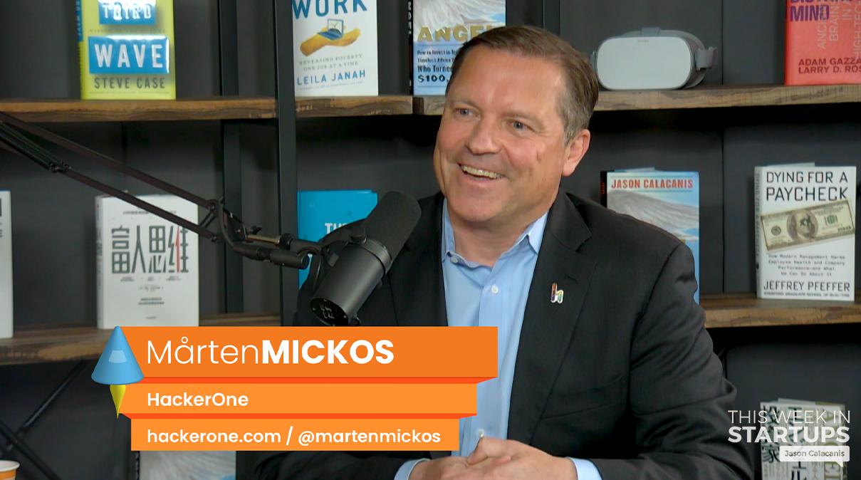 E948: HackerOne CEO Mårten Mickos shares insights on how he