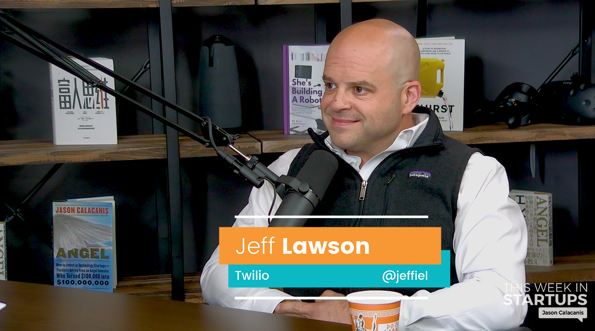 E967: Twilio CEO & Co-Founder Jeff Lawson on growing Twilio to 160,000 customers & a billion-dollar run rate, innovating in a trillion-dollar market, learning from Bezos, strategic timing of Twilio's IPO, the importance of focusing on customers over competition & always waking up with a Day 1 mindset